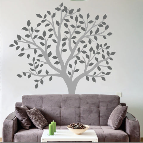 Perfect Large Tree Wall Decal Living Room Part 13