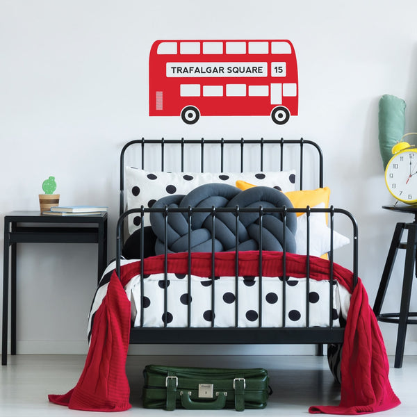 Kids London Bus Wall Sticker