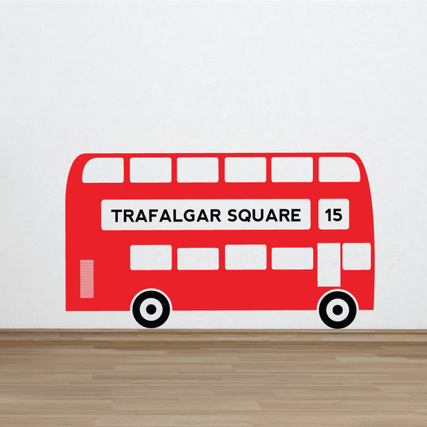 London Bus Wall Vinyl