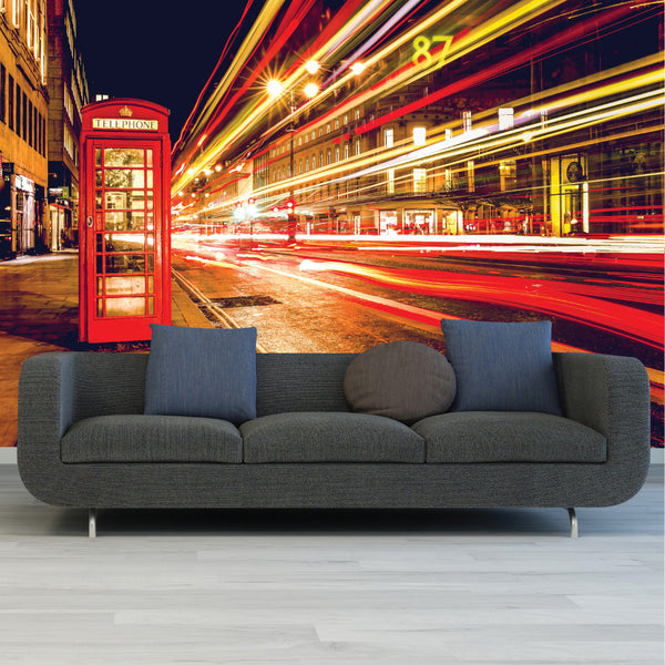 London Printed Wall Mural