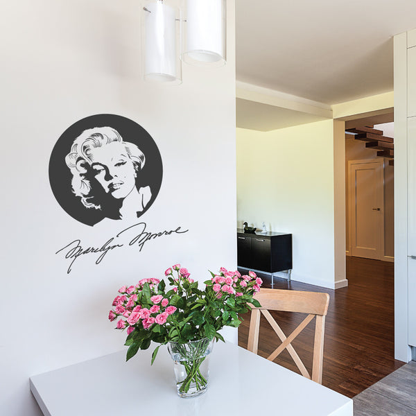 Marilyn Wall Decal