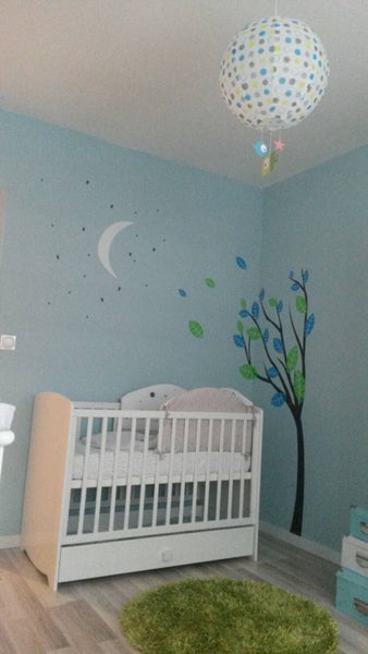 Midnight Nursery Tree Wall Sticker