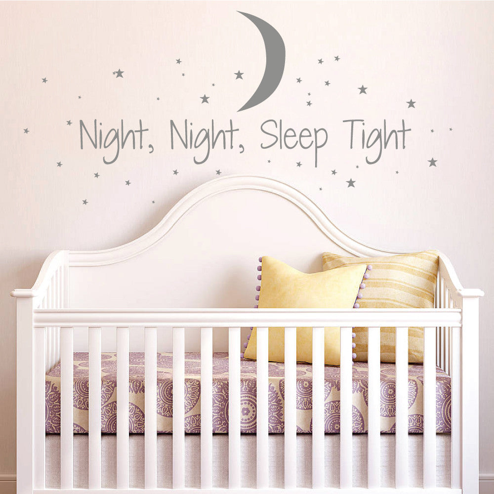 Moon And Stars Wall Stickers Part 68