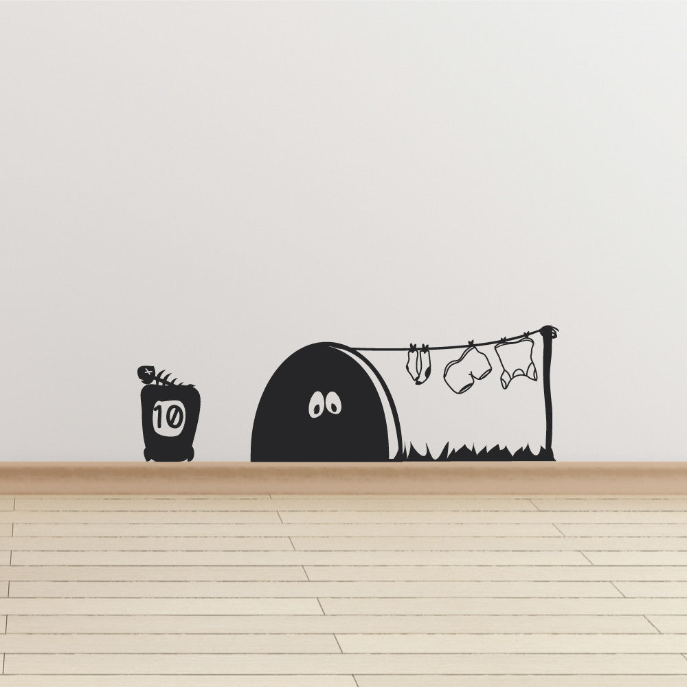 Mouse Hole Wall Sticker Wallboss Wall Stickers Wall