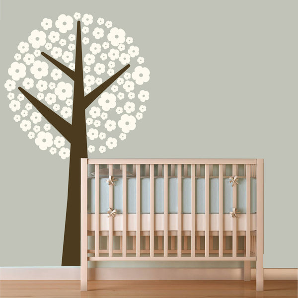 Nursery Flower Tree Wall Sticker
