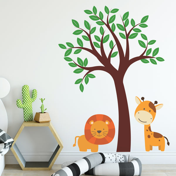 Nursery Jungle Wall Decals