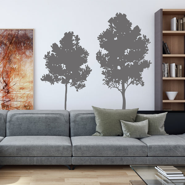 Silhouette Tree Wall Stickers