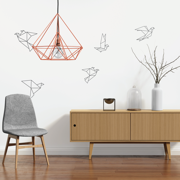 Origami Bird Wall Stickers