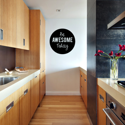 Be Awesome Today Wall Sticker