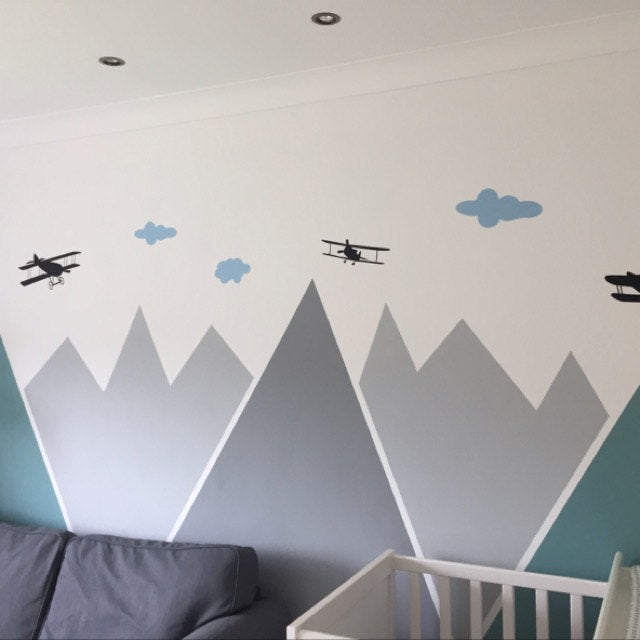 Planes Over Mountains Stickers Part 68