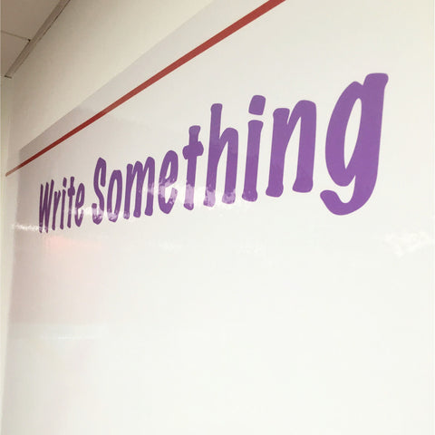 Adhesive Whiteboard Wall Vinyl
