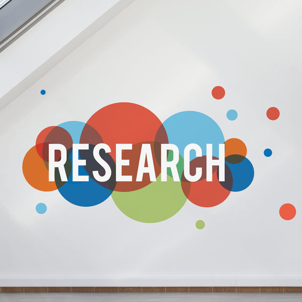 Research Printed Wall Sticker