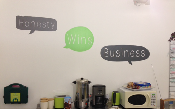Personalised Keyword Bubble Wall Stickers