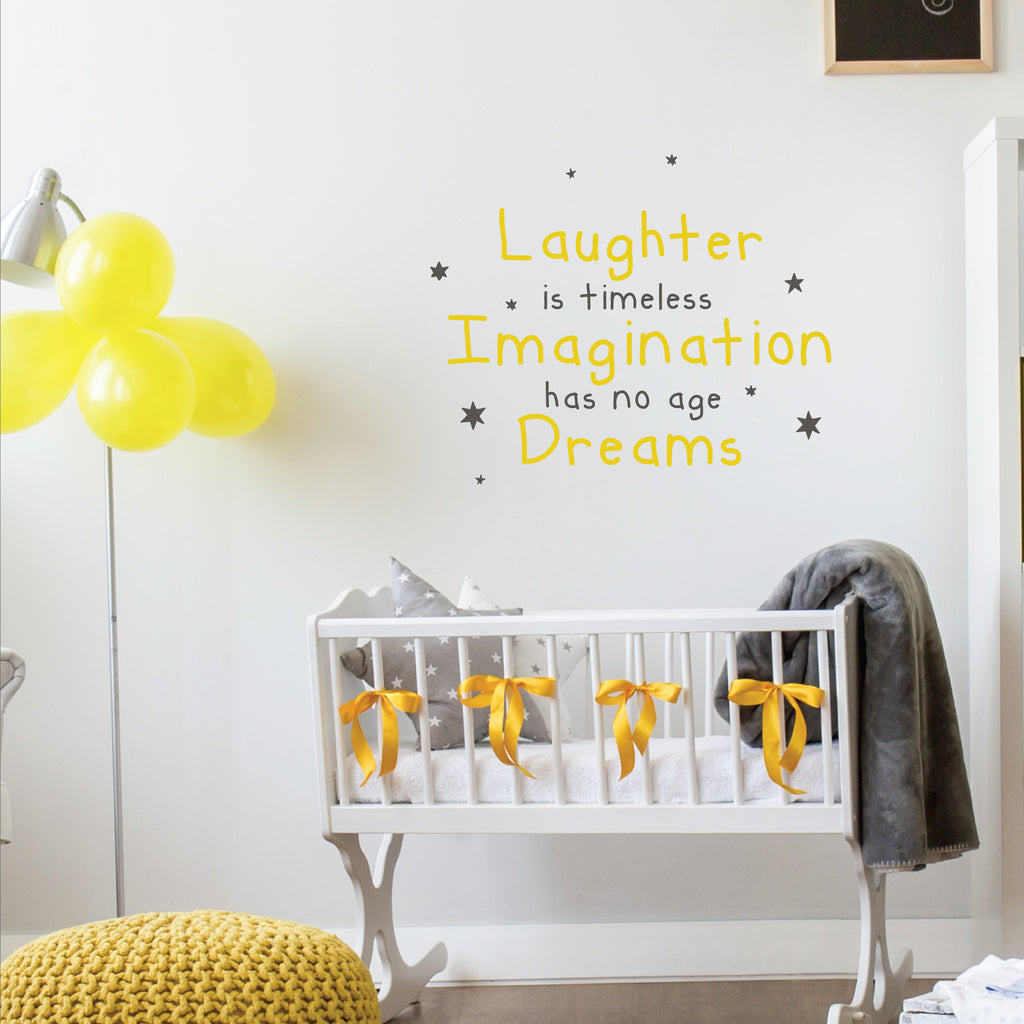 Tinkerbell wall stickers decals famous quotes mural childrens tinkerbell quote decal amipublicfo Images
