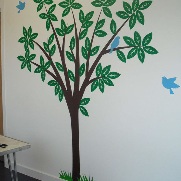 Modern Nursery Tree Wall Sticker