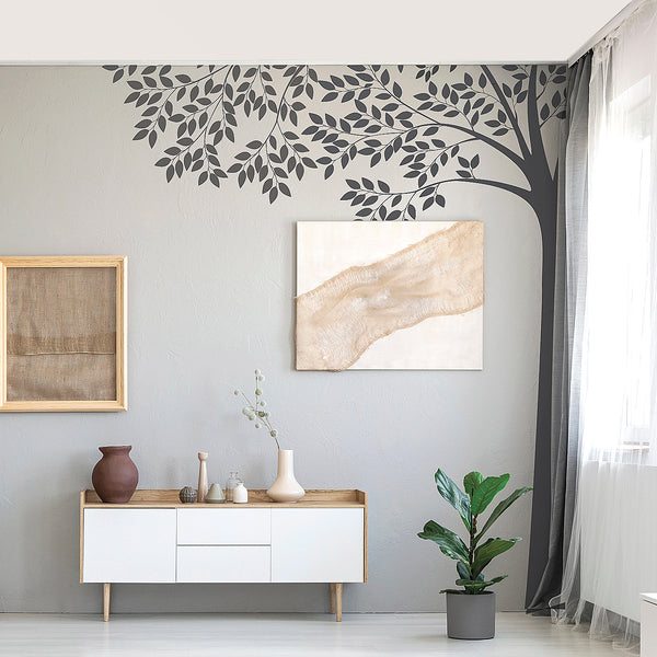 Corner Tree Wall Sticker