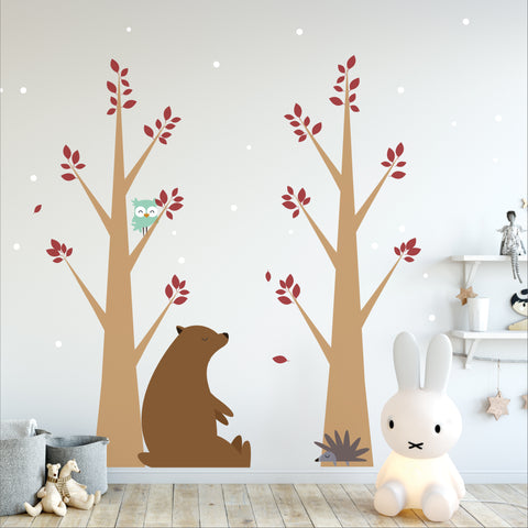 Woodland Nursery Forest Stickers