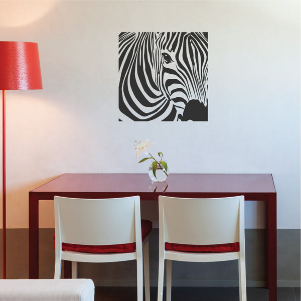 Zebra Wall Sticker By Wallboss