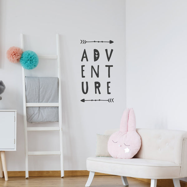 Adventure Quote Wall Sticker