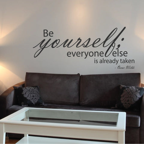 Be Yourself Wall Quote