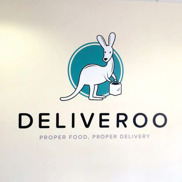 Deliveroo Logo Wall Sticker