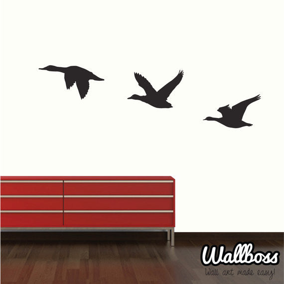 Flying duck wall stickers by Wallboss