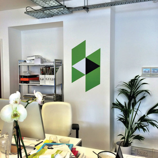 Company Printed Logo Wall Sticker