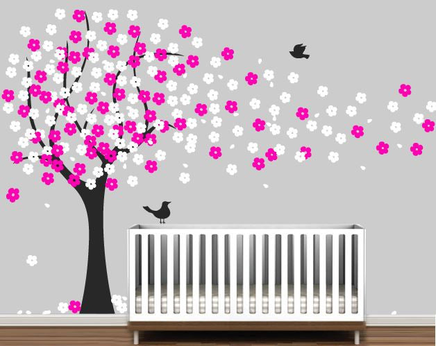 Cherry Blossom Tree Wall Decal Part 79