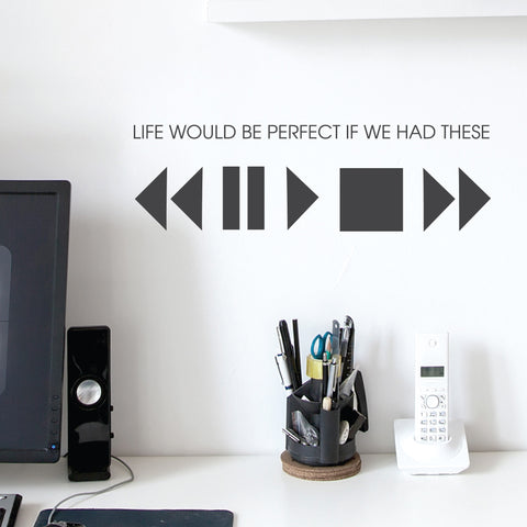 Life Wall Sticker