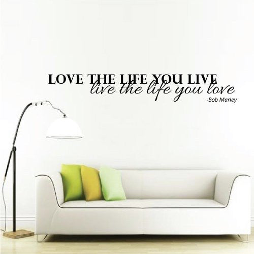 Love the life Wall Sticker