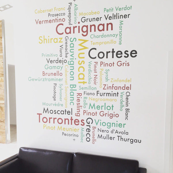 Company Keyword Cluster Wall Sticker