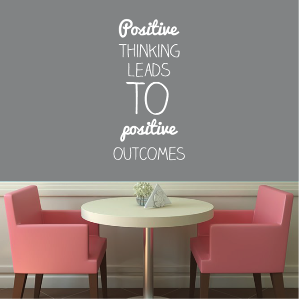 Positive Thinking Wall Sticker