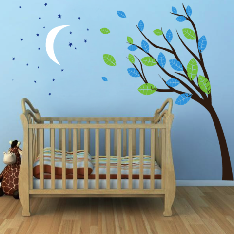 Midnight Tree Wall Sticker
