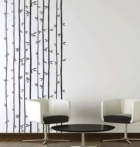 Bamboo Forest Uk Wall Sticker