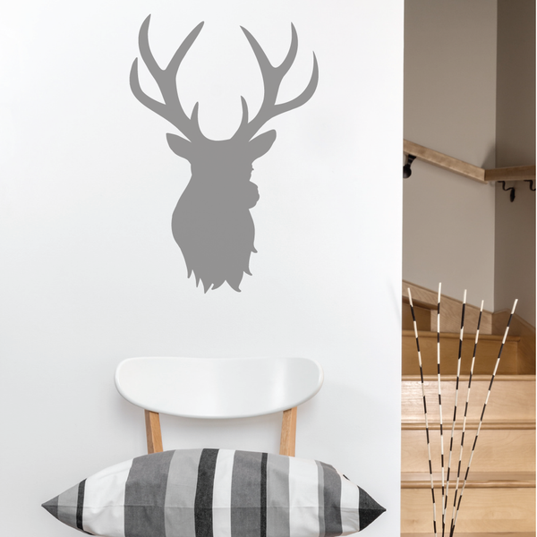 Stag Head Wall Sticker
