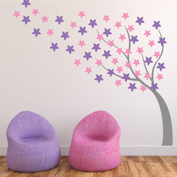 Blossom Flower Tree Wall Sticker
