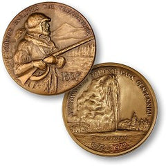 Yellowstone NP Centennial Medallion (MM-2798)
