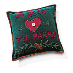 PILLOW - MY HEART IS IN THE PARKS