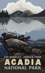 Acadia National Park/The Bubbles Poster • PAL-1657