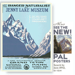 Grand Teton National Park / Jenny Lake Museum • WPA • RDE-7010