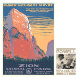Zion National Park • WPA • RDE-7040
