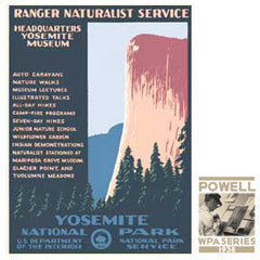 Yosemite National Park • WPA • RDE-7060
