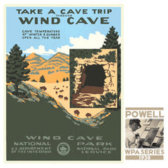 Wind Cave National Park • WPA • RDE-7100