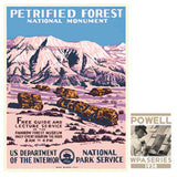 Petrified Forest National Monument • WPA • RDE-7110