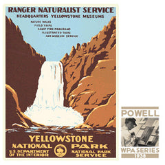 Yellowstone National Park / Yellowstone Falls • WPA • RDE-7140