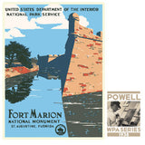 Fort Marion National Monument • WPA • RDE-7150