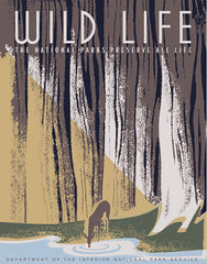 Wildlife: Preserve All Life • WPA • WLP-1020