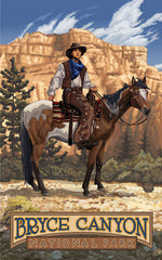 Bryce Canyon National Park / Cowboy Poster • PAL-1116
