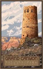 Grand Canyon National Park / Devil's Tower Poster • PAL-1512