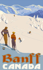 Banff National Park/Skiers Outlook Poster • PAL-2521